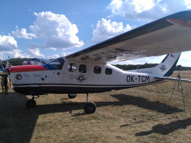 ABS Jets supporting the first Czech solo around the world flight on the single-engine aircraft